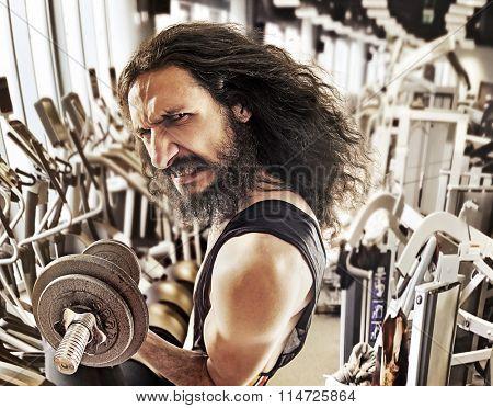 Funny bodybuilder