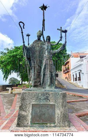 Plaza De La Rogativa, Old San Juan, Puerto Rico