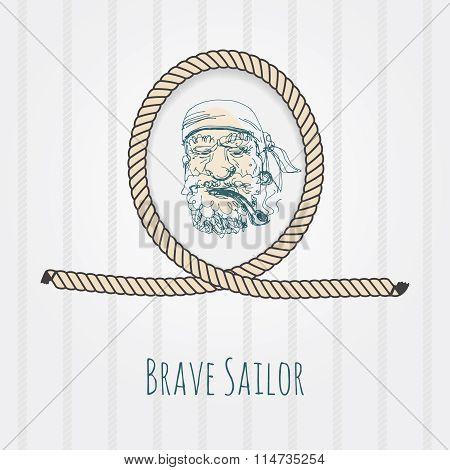 old sailor portrait