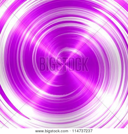 Abstract Lavender Spiral Stainless Steel Background