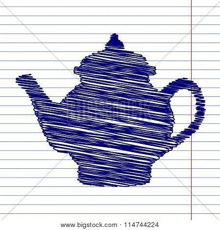 Tea maker sign