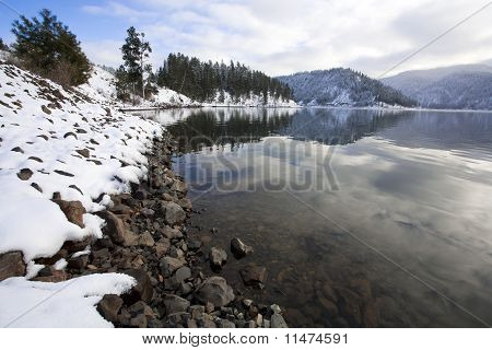 Higgens Point on Lake Coeur d'Alene