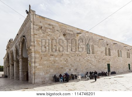 Al-aqsa Mosque. Temple Mount. Jerusalem, Israel.