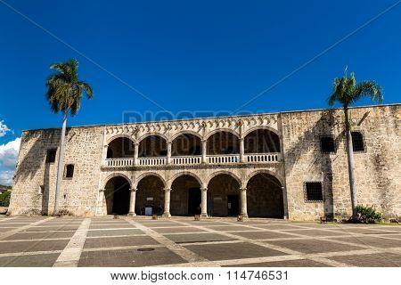 Alcazar de Colon in Santo Domingo, Dominican Republic