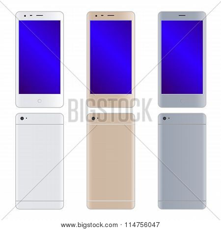 Modern phones set