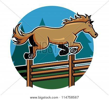 Horse Jump Ranch Fence