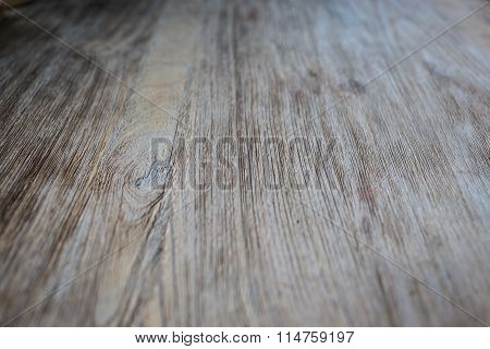 Wood Grain Surface Texture Background, Close-up Detail Of Wooden Table