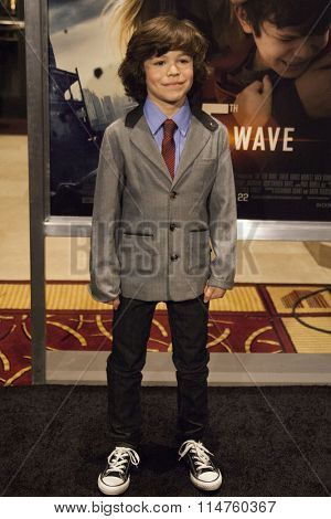 vLOS ANGELES - JAN 14:  Zachary Arthur at the The 5th Wave Los Angeles Premiere at the Pacific Theatres At The Grove on January 14, 2016 in Los Angeles, CA