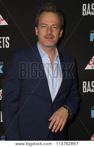 vLOS ANGELES - JAN 14:  Salvator Xuereb at the Baskets Red Carpet Event at the Pacific Design Center on January 14, 2016 in West Hollywood, CA