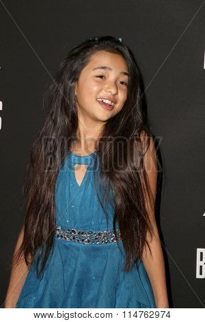 vLOS ANGELES - JAN 14:  Julia Rose Gruenberg at the Baskets Red Carpet Event at the Pacific Design Center on January 14, 2016 in West Hollywood, CA