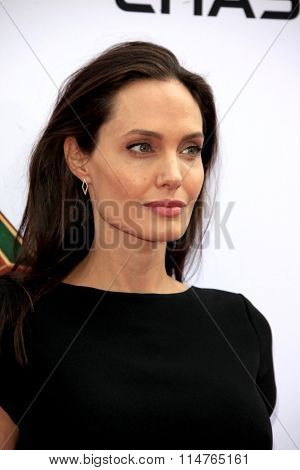 LOS ANGELES - JAN 16:  Angelina Jolie-Pitt at the Kung Fu Panda 3 Premiere at the TCL Chinese Theater on January 16, 2016 in Los Angeles, CA