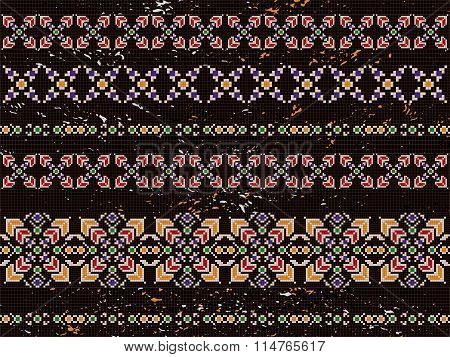 Abstract Background Native Aztec Element Brown