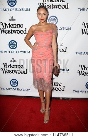 vLOS ANGELES - JAN 9:  Ashley Madekwe at the The Art of Elysium Ninth Annual Heaven Gala at the 3LABS on January 9, 2016 in Culver City, CA