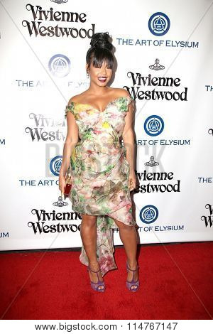 vLOS ANGELES - JAN 9:  Christina Milian at the The Art of Elysium Ninth Annual Heaven Gala at the 3LABS on January 9, 2016 in Culver City, CA