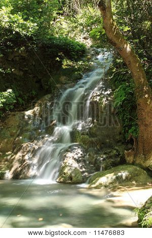 Tranquil Waterfall Turkey