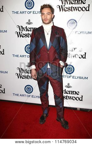 vLOS ANGELES - JAN 9:  Ed Westwick at the The Art of Elysium Ninth Annual Heaven Gala at the 3LABS on January 9, 2016 in Culver City, CA