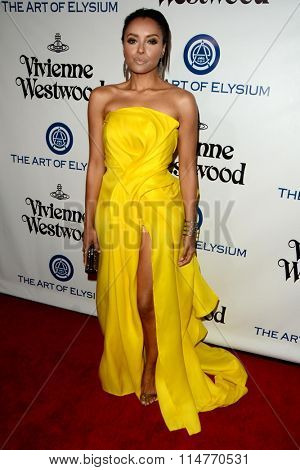 vLOS ANGELES - JAN 9:  Kat Graham at the The Art of Elysium Ninth Annual Heaven Gala at the 3LABS on January 9, 2016 in Culver City, CA