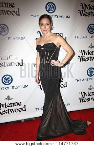 vLOS ANGELES - JAN 9:  Sasha Alexander at the The Art of Elysium Ninth Annual Heaven Gala at the 3LABS on January 9, 2016 in Culver City, CA