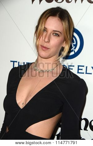 vLOS ANGELES - JAN 9:  Scout Willis at the The Art of Elysium Ninth Annual Heaven Gala at the 3LABS on January 9, 2016 in Culver City, CA