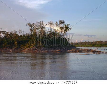 Morning At The Rio Amazonas