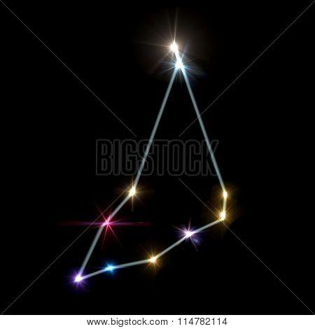 Capricorn Horoscopes With Black Background