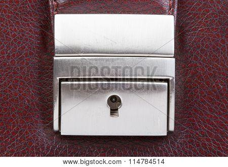 Lock with keyhole