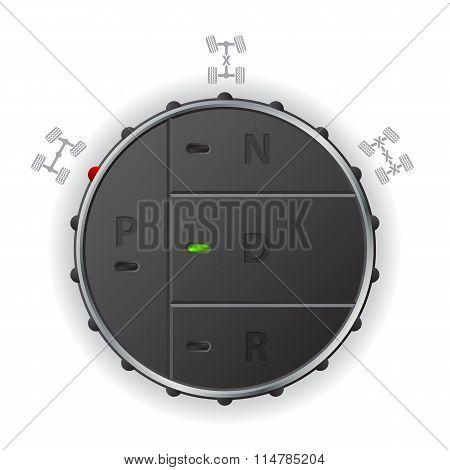 Automatic Transmission Control Panel
