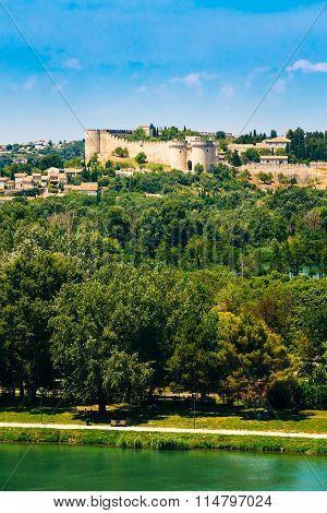 Castle Villeneuve les Avignon, France