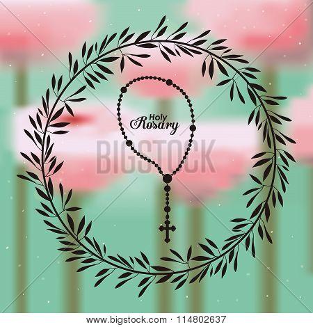 holy rosary design
