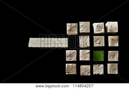 Chalk Cube IV., Logo