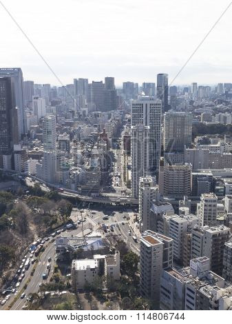 Cityscape, View From Tokyo Tower