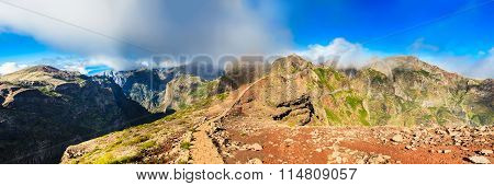 Amazing Panorama At Pico Do Arieiro