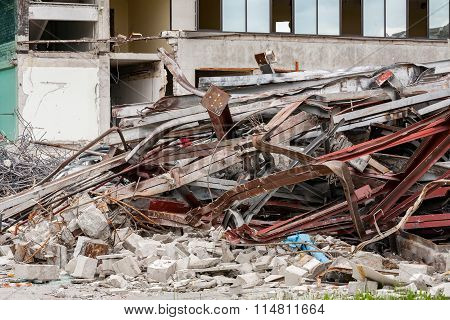 Demolished House