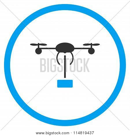 Copter Delivery Icon