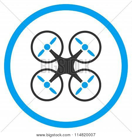 Nanocopter Flat Icon
