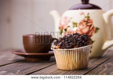 Appetizing Tasty Fresh Muffin
