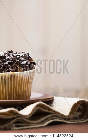 Sweet Dessert Traditional Cupcake
