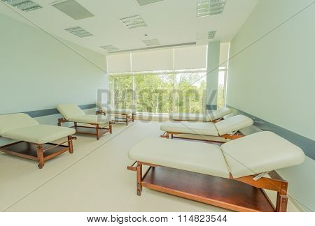 Room in the modern hospital