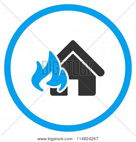 Home Fire Damage Icon
