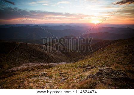 Mt Buller Sunset View