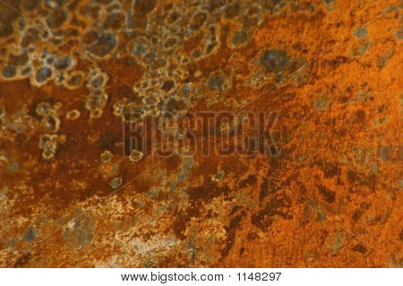 Surface Rust On A Car