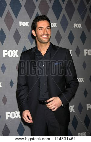 LOS ANGELES - JAN 15:  Tom Ellis at the FOX Winter TCA 2016 All-Star Party at the Langham Huntington Hotel on January 15, 2016 in Pasadena, CA