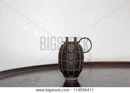 Grenade Still Life