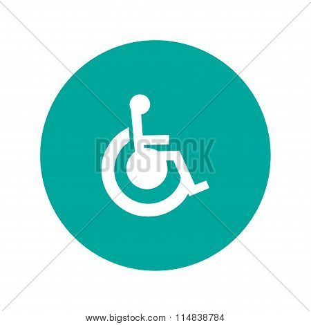 cripple Flat Simple Icon