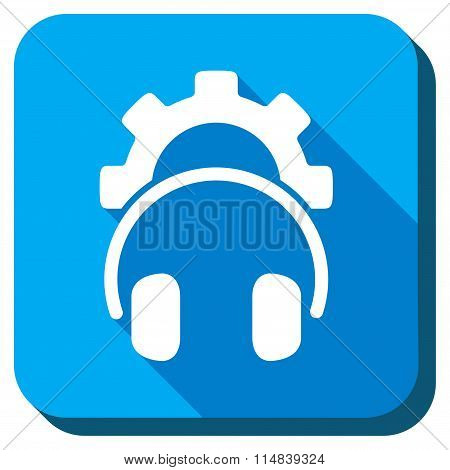 Headphones Adjustment Flat Icon