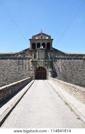 Entrance To The Ciudadela, Jaca