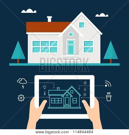 Smart Home Technology and Tab Application