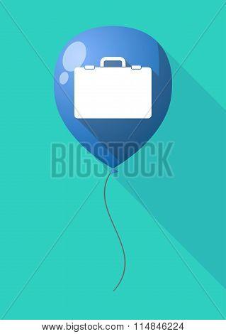 Long Shadow Balloon With  A Breiefcase