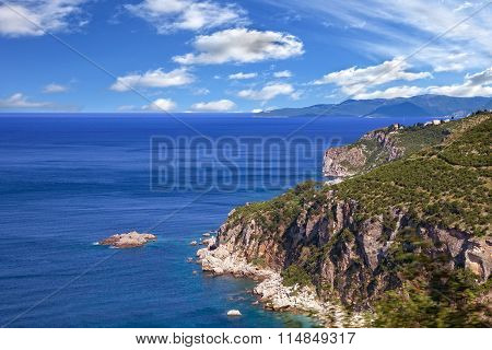 Coastline Makarska Riviera