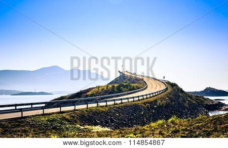 Beautiful Atlantic Road .